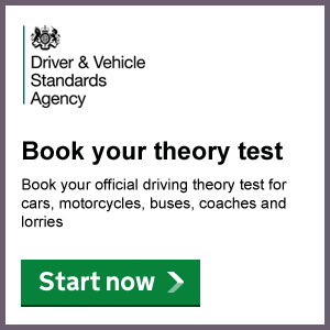 Book your Theory Driving Test